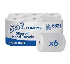 SCOTT® Control SLIMROLL* Rollenhandtücher