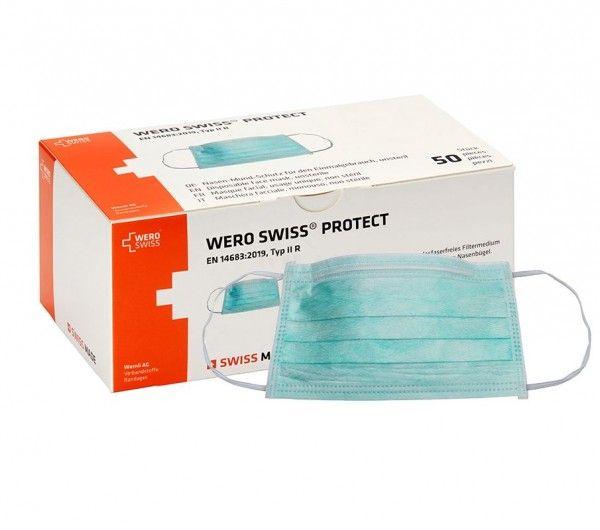 slide image Wero Swiss® Protect Hygienemasken - Chirurgische OP-Masken Typ IIR